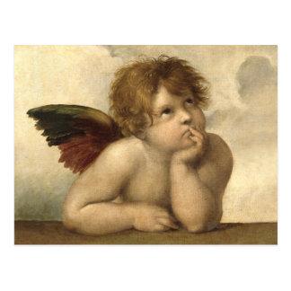 RAPHAEL-Engel 1 Postkarten