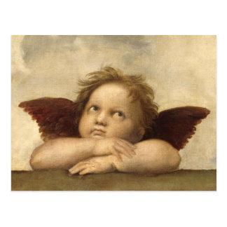 RAPHAEL-Engel 2 Postkarten