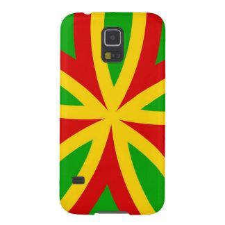Rasta Muster Samsung Galaxy S5 Cover