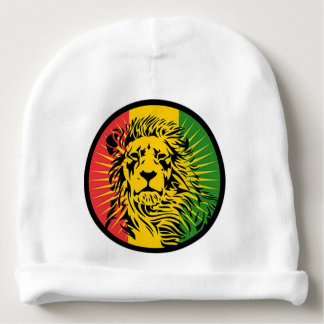 rasta Reggae-Löweflagge Babymütze