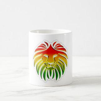 rasta Reggae-Löweflagge Kaffeetasse