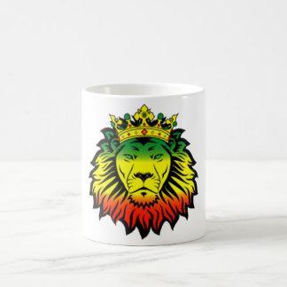 rasta Reggae-Löweflagge Tasse