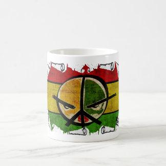 rasta Reggaefrieden Tasse