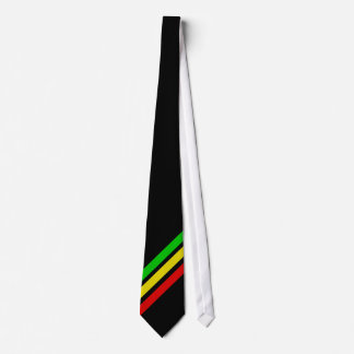 Rasta Stangen Personalisierte Krawatte