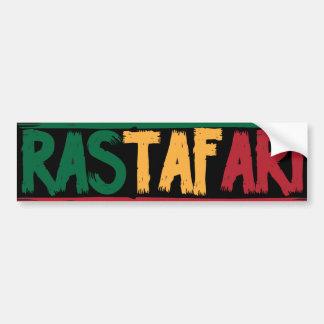 Rastafari Autoaufkleber