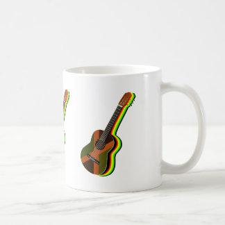 Rastafarian Reggae-Gitarre Tasse