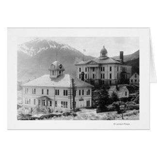 Rathaus und Gericht in Juneau Karte