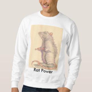 Ratten-Power-Sweatshirt Sweatshirt