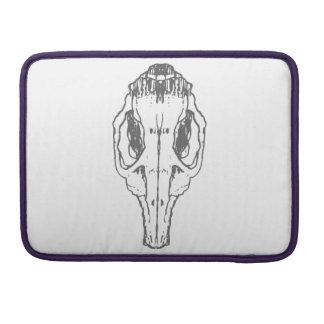 Ratten-Schädel Macbook Prohülse Sleeve Für MacBook Pro
