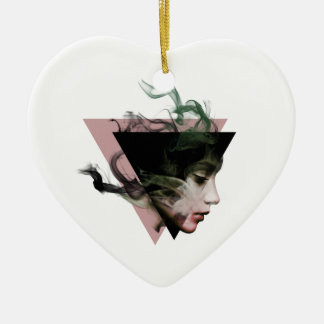 Rauch-Illusion Keramik Ornament