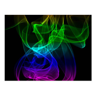 Rauch Mehrfarben Postkarte