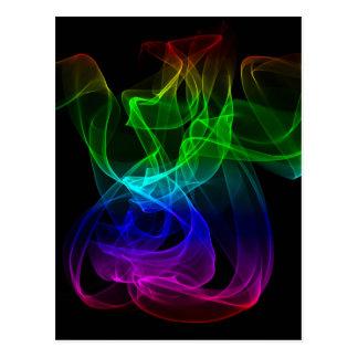 Rauch Mehrfarben Postkarten