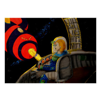 Raum-Abenteuer Poster