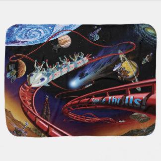 Raum begeistert kosmisches kinderwagendecke