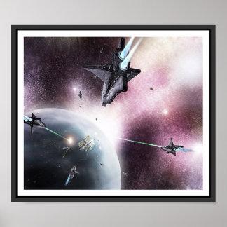 Raum-Invasion Poster