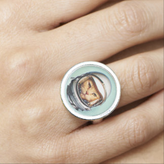 Raum-Katze Ring