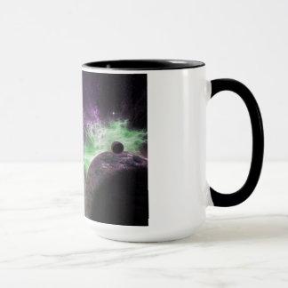Raum-Nebelfleck- und Planetenkaffee-Tasse Tasse