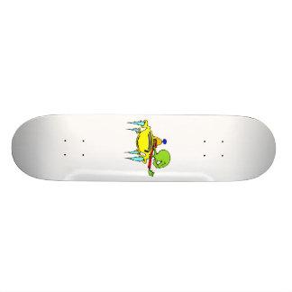 Raum-Raserei Bedrucktes Skateboard