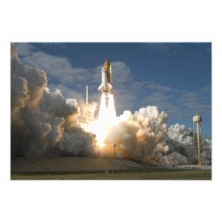 Raumfähre Atlantis hebt 8 weg Fotodruck