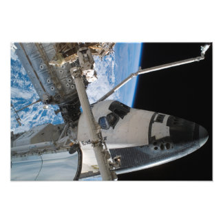 Raumfähre-Bemühung 5 Photo Druck