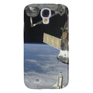 Raumfähre-Bemühung, ein Soyuz Raumfahrzeug Galaxy S4 Hülle