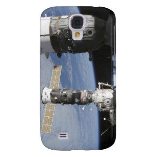 Raumfahrzeuge des Russen Soyuz und des Galaxy S4 Hülle