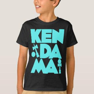 Rauminhalt berechnetes Kendama 2, blue2 T-Shirt