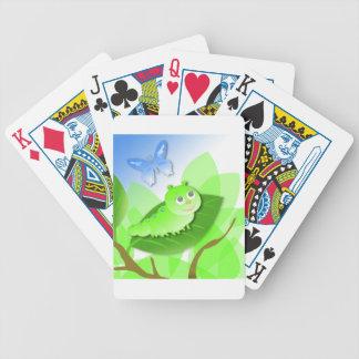 Raupe Bicycle Spielkarten