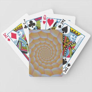 Raupen-gewundene Spielkarten