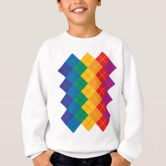 Rauten-Farbspektrum Sweatshirt