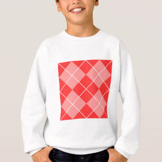 Rauten-Muster-Bild Sweatshirt