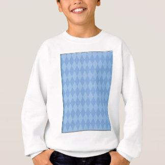 Rauten-Muster Sweatshirt