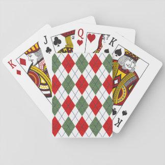 Rauten-Spielkarten Pokerkarte