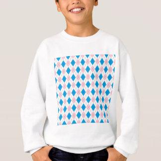 Rautenmuster Sweatshirt