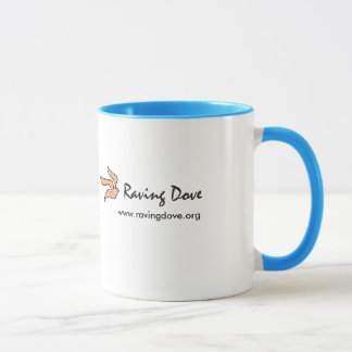 Raving Tauben-Kaffee-Tasse Tasse