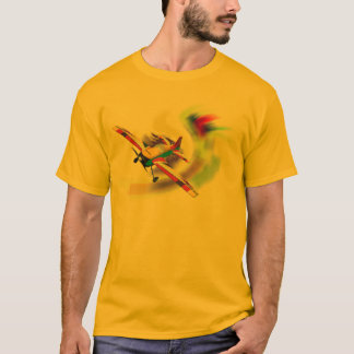 RC AERO SPORT-FLUGZEUG AUF WELLE T-Shirt