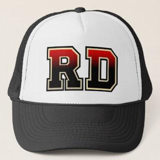 Rd-Monogramm Truckerkappe