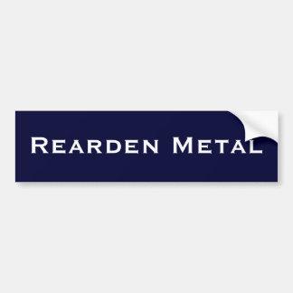 Rearden Metall Autoaufkleber