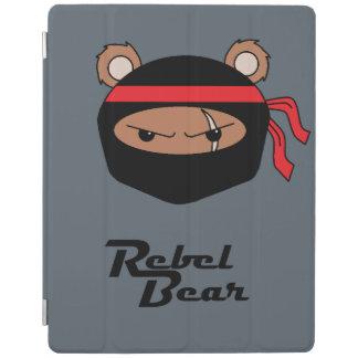 Rebellenbär Ninja iPad Hülle