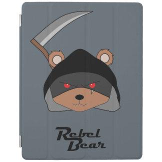 Rebellenbärn-grimmiger Sensenmann iPad Hülle