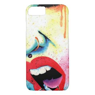 Rebellenschrei - Pop-Kunst-Porträt iPhone 8/7 Hülle