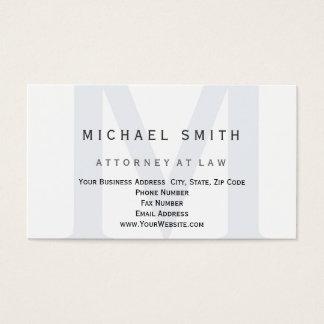 Rechtsanwalt an der GesetzesVisitenkarte Visitenkarte