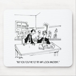 Rechtsanwalt-Cartoon 5299 Mousepad
