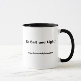 Rechtshändige Salz-und Licht-Tasse Tasse