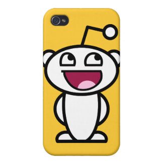 Reddit fantastisches Gesicht iPhone 4 Hülle