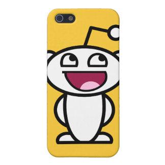 Reddit fantastisches Gesicht iPhone 5 Schutzhüllen