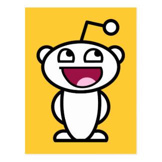 Reddit fantastisches Gesicht Postkarten