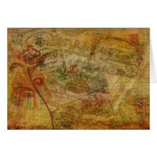 Redegewandte Tapisserie Karte