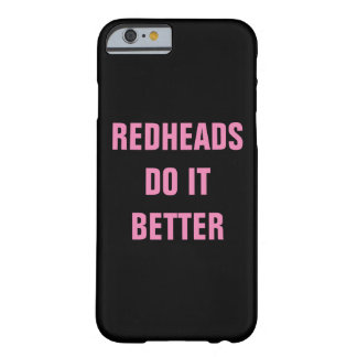 Redheads verbessert es barely there iPhone 6 hülle