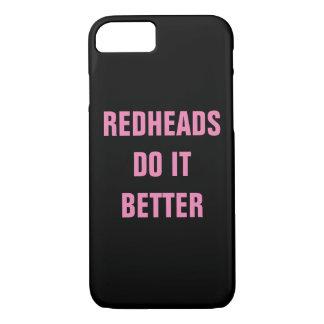 Redheads verbessert es iPhone 8/7 hülle